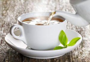 Chaga Tee zubereiten