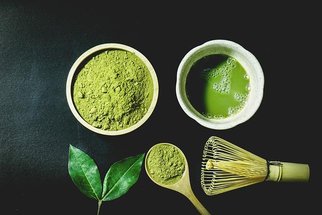 Matcha Tee Besen